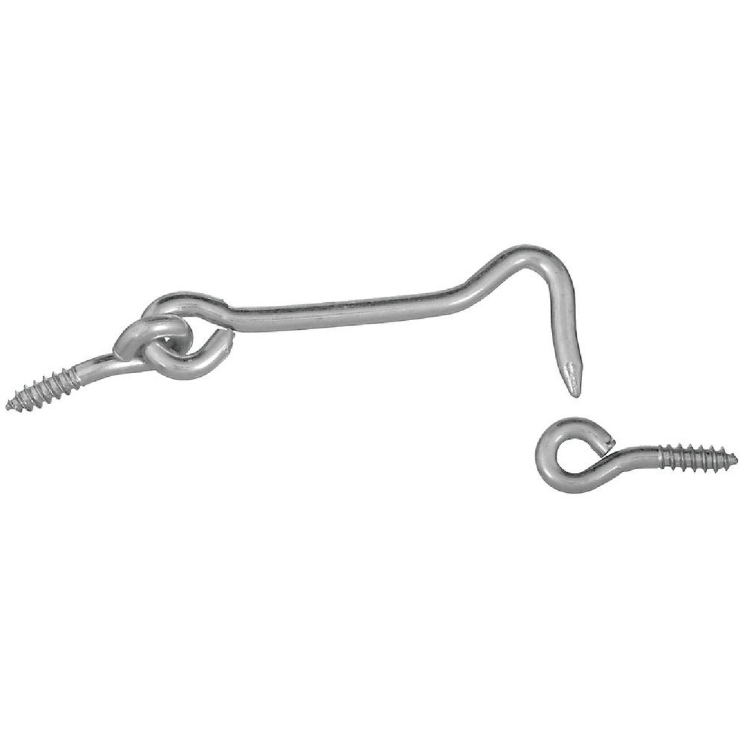 National 3 In. Steel Hook & Eye Bolt Image 1