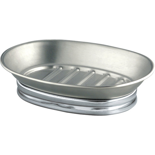 InterDesign York Metal Soap Dish