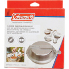 Coleman 5-Piece Aluminum Mess Kit with Cover Image 2